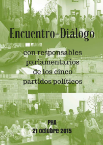 Encuentro-diálogo con los responsables parlamentarios de los cinco partidos políticos sobre la discriminación de los trabajadores de la Enseñanza Concertada