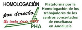 PHA. Plataforma por la Homologación de los trabajadores de los centros concertados en Andalucía